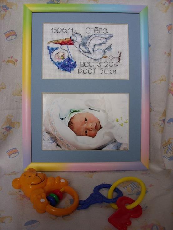 Вышивка для новорожденного фото 46