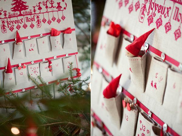 Календаря адвент своими руками