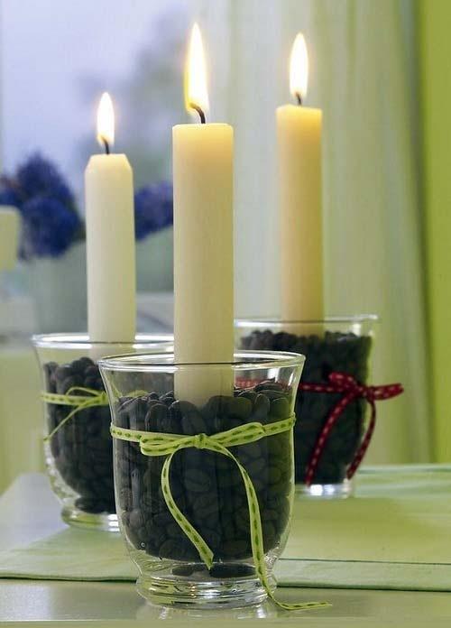 Подсвечник для свечи своими руками