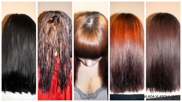 Почему не держится на волосах краска