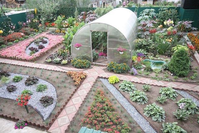 Фото дизайн огорода своими руками