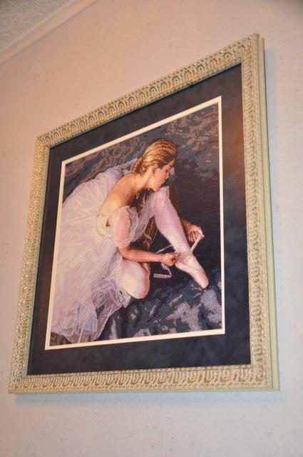 Купить Набор для вышивания Dimensions Прекрасная балерина