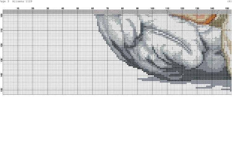 Схема вышивки ангел для метрики