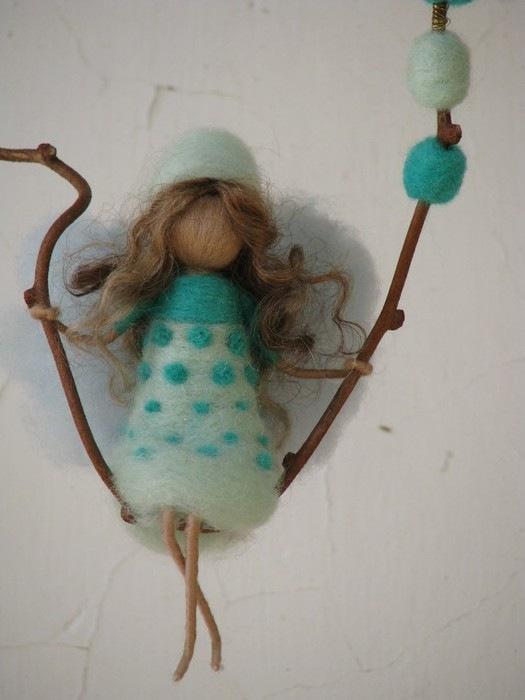 Валяние из шерсти как сделать куклу