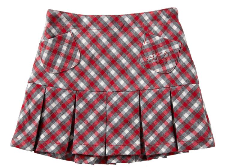 Сшить юбочку со складками для девочки