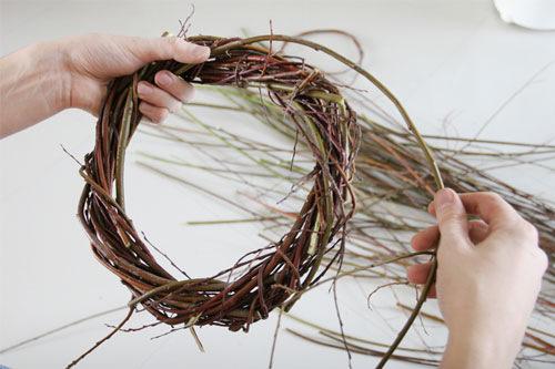 Венки из прутьев