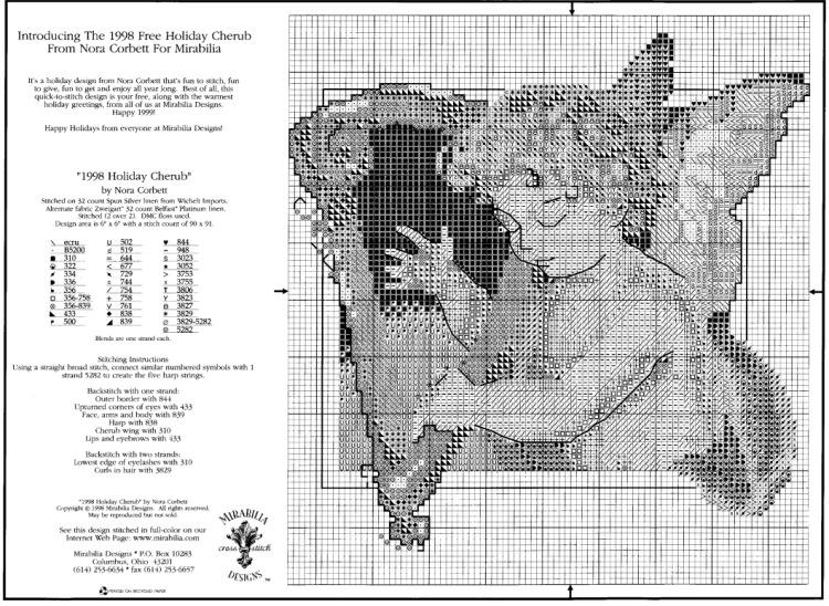 Схемы вышивок крестом норы корбетт
