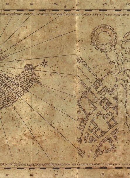 Карта мародёров своими руками