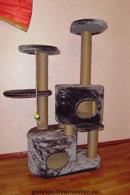 Домик для двух котят