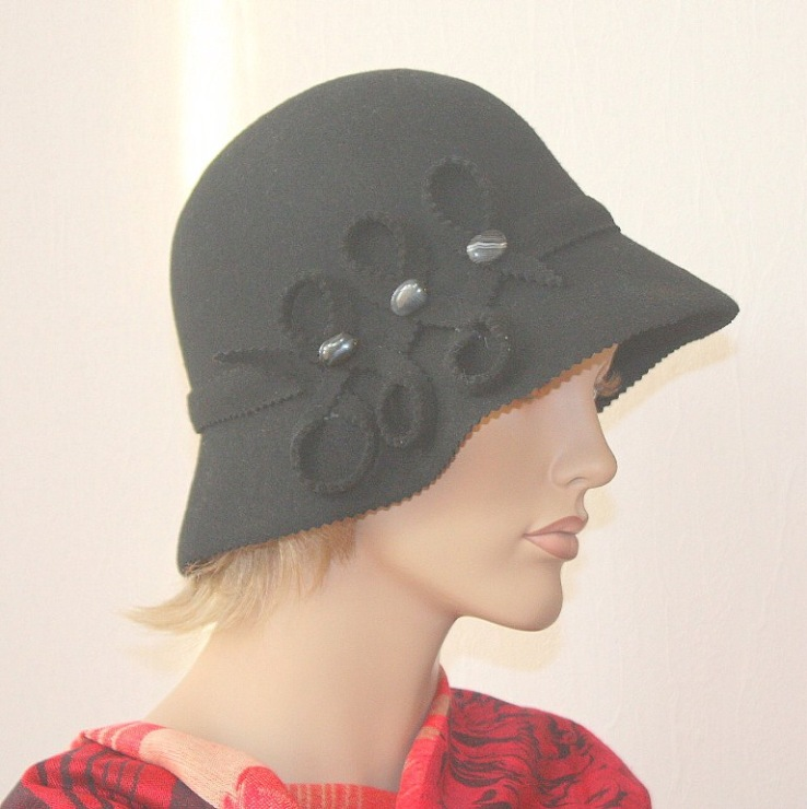 Украшение на шляпку своими руками 952