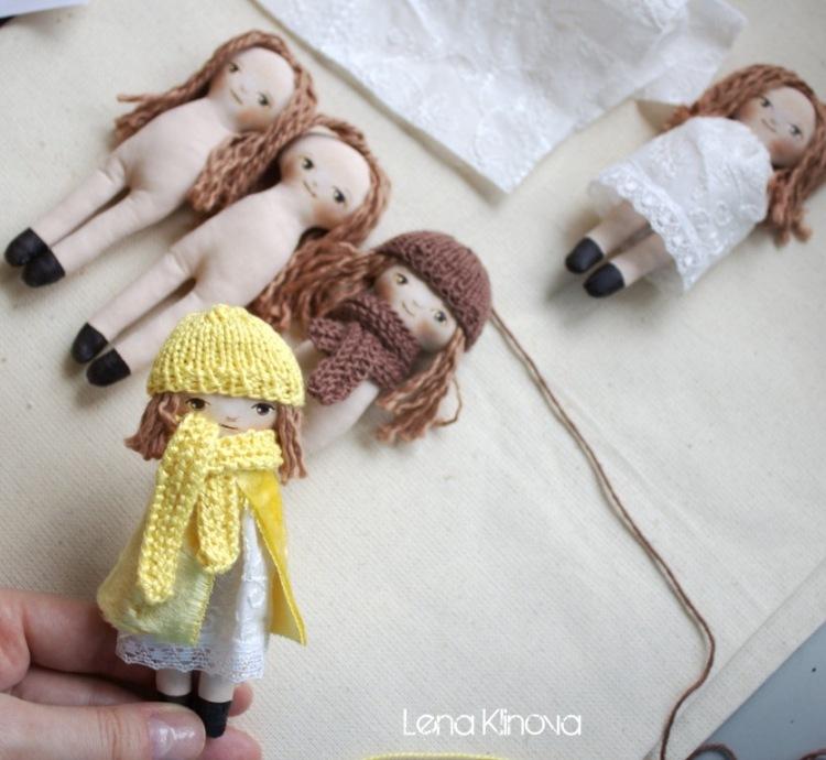 Как сделать куклу своими руками 10 лет 121