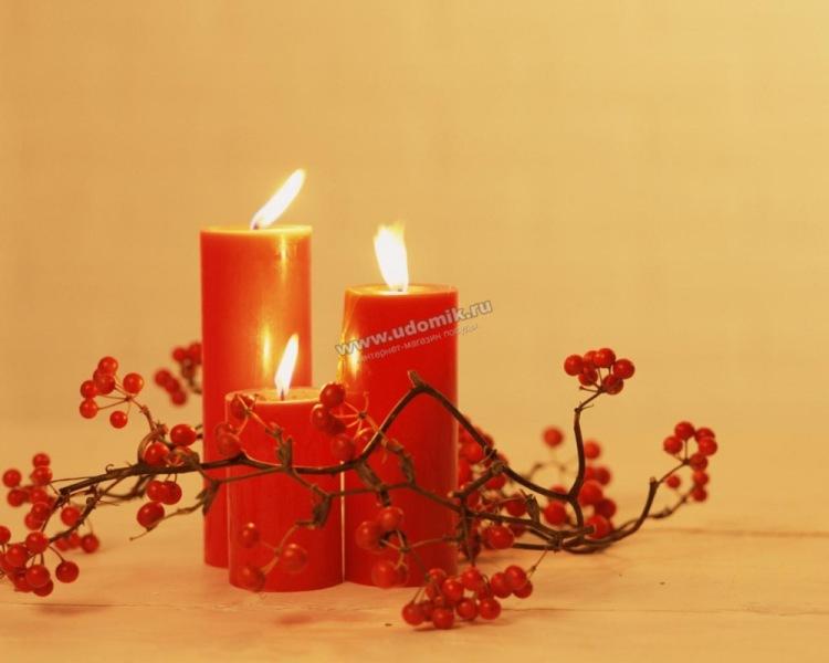 Пасха празднования красная свеча