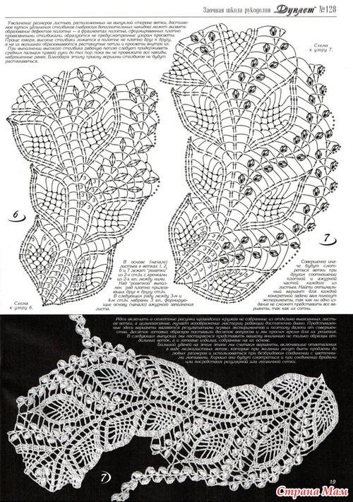 钩针:各种各样的叶子—1(复合) - maomao - 我随心动