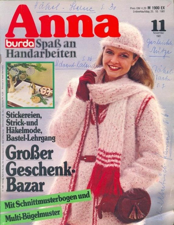 Бурда-моден модели для вязания
