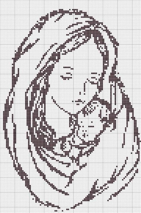 термобелье отличается вышивка крестом иголочка схема мадонна с младенцем белье термобелье может