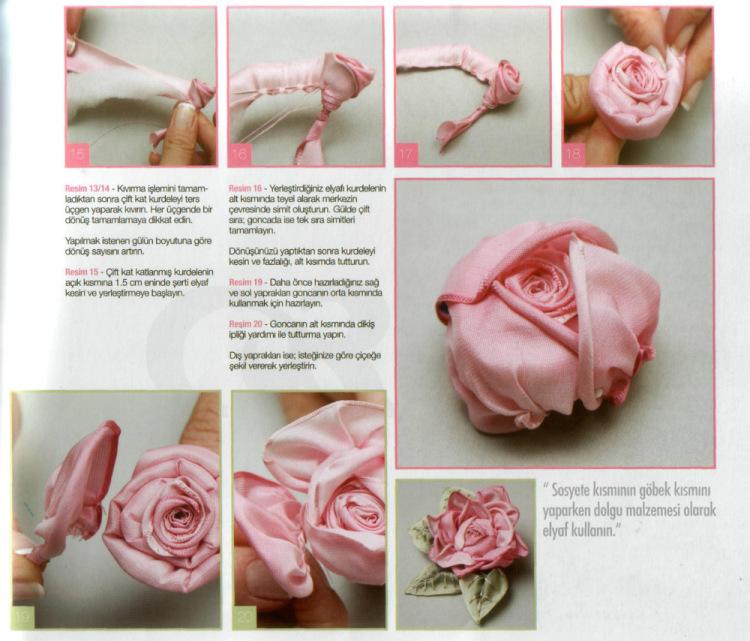 Как из ткани сделать ленту