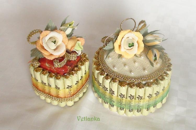 Как сделать маленький торт