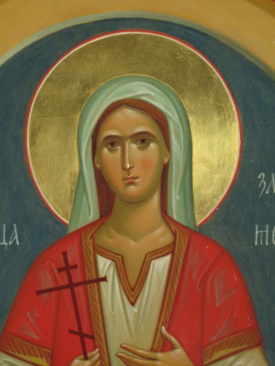 икона св великомученица злата